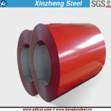 o material de construção de 0.14-0.8mm galvanizou a bobina de aço Prepainted revestida cor de PPGI