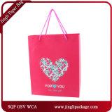 Le sac de papier Qingdao Papier d'emballage de Guangzhou de sac de papier de Qingdao met en sac des sacs de cadeau de Valentine
