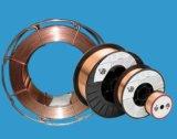 Fil de soudure en acier, fil de soudure de cuivre protégé du gaz solide