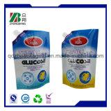Lamellierter Plastikgeformter Beutel für Gelee-Paket mit Tülle