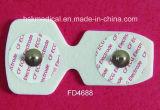 Nichtgewebte Wegwerf-ECG Elektroden 55mm- für Erwachsenen