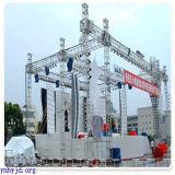 Assembleer Vertoning tonen het Dak van de LEIDENE Verlichting van het Aluminium de Globale Bundel van de Driehoek