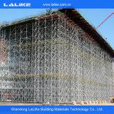 Échafaudage en acier de système de matériau de construction