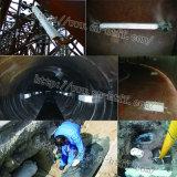 El tanque de agua del lastre con el ánodo sacrificatorio de la aleación de aluminio