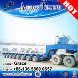 Multi-eixos 100 Toneladas Transpereador Modular Auto-propulsor Lowbed Trailer (personalizado)
