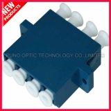 LC UPC Quad Singlemode Adaptateur en fibre optique en plastique