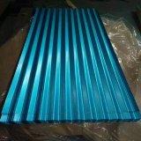 acero galvanizado acanalado prepintado 0.14mm-0.8m m del metal de hojas de acero material