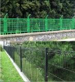 Barrière de sécurité avec le PVC enduit