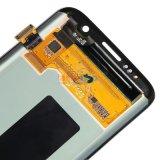 Handy LCD mit Rahmen für Rand Samsung-S7