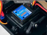 Carro de RC fora de escala sem escova elétrica 2.4GHz da canaleta do transmissor 2 do carro de Truggy RC da estrada da 1/10