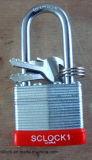 O cadeado do ferro, cadeado de aço, cadeado laminou o cadeado (AL-40)