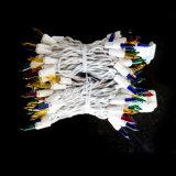 Chaîne lumineuse LED en fil blanc avec perspectives traditionnelles (L200.022.00)