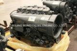 Motor diesel refrescado aire F6l913 para el mezclador del carro