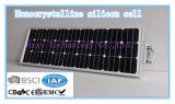 Lámparas solares para la lámpara de África 80W LED con la luz de calle solar de aluminio durable de la fuente de la energía solar del precio bajo