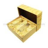 Rectángulo de empaquetado del perfume de papel creativo