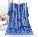 新しく熱い販売の平野によって染められる優雅な100%年の綿のホテルの浴室タオル