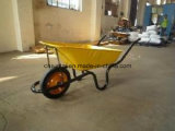 Wheelbarrow modelo da cor verde de África do Sul (WB3800)