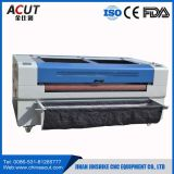 130W Automacticペーパー、木、ファブリックのための挿入システムレーザーカッター機械