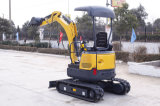 We161.6t Crawler Hydraulic Backhoe Mini Excavator avec Canopy