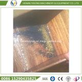 Contenitore di chiusa dell'oro del giacimento detritico (camphorwood)