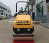 Mini rouleau de route vibratoire compacteur de rouleau de route goudronnée de 2 tonnes (FYL-900)