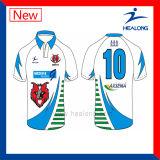 Camisola Sublimated 3D nova da liga do rugby do esporte de Healong com alta qualidade