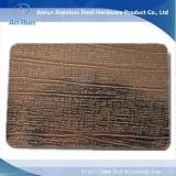 Нержавеющая сталь вытравляя малое изготовление плиты