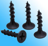 Материальный черный винт Drywall C1022 для доски гипса