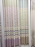 Matéria têxtil de linho da cortina da tela do jacquard da cortina da tela da alta qualidade