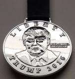 Donald- TrumpSilbermedaille-Medaillon (NICHT eine MÜNZE)