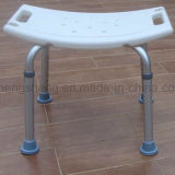 Equipamiento Médico Anti-Bacterial Plastic Nylon Wood Shower Seat