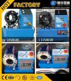 """Máquina de friso da mangueira P32 hidráulica até da """" estilo da potência do Finn mangueira 2"""