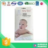 Sacchetto profumato a gettare del pannolino dell'HDPE per il bambino