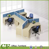 Bureau Call Center Cubicles Workstation avec socle Movable