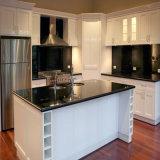 Armários de cozinha UV brancos N15-5 do lustro de Bck