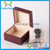 Caixa de armazenamento de madeira luxuosa feita sob encomenda do relógio