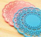 Silicones durables essentiels Placemats de la chaleur de vaisselle de cuisine et boissons de caboteurs