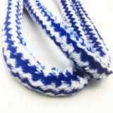[1.8م] زرقاء [ستريبد] فروة تصميم نارجيلة خرطوم مع قطعة فم أكريليكيّ ([إس-هّ-006-4])