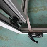 Finestra di alluminio con la maniglia del rullo, finestra della stoffa per tendine Kz036 della stoffa per tendine
