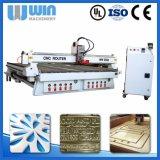 Holz 4axis gekurvt, Multifunktionsholzbearbeitung-Maschine CNC-Fräser 2030 schnitzend
