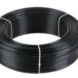 """Galfan + PA12 sumergidos calientes cubrieron 6.35m m 1/4 """" tubo doble de Bundy de la pared"""
