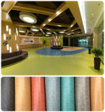 China Fashion Waterproof and Environmental Friendly Solid PVC Floor