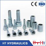 Embout de durites hydraulique hydraulique mâle d'ajustage de précision de pipe de connecteur d'acier du carbone de joint circulaire de 12211 Bsp