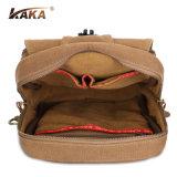 O curso ostenta o saco do estilingue para sacos da caixa da lona de Running&