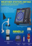Estação de tempo/medidor do vento/anemómetro/sentido da velocidade do vento