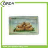 Tarjeta sin contacto de seda de la ISO NTAG213 NFC de la impresión 13.56MHz RFID