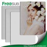 Page blanche en aluminium de la vente en gros HD en métal de sublimation promotionnelle de photo