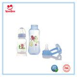 240ml/8oz het Voeden van de Baby van de Vorm van de boog Plastic Flessen met Druk