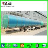 3 petrolero de aluminio del árbol 42000L para transportar el aceite de mesa