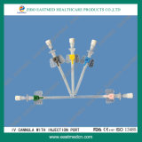 IV Cannula/IV Katheter mit Wings&Injection Ventil